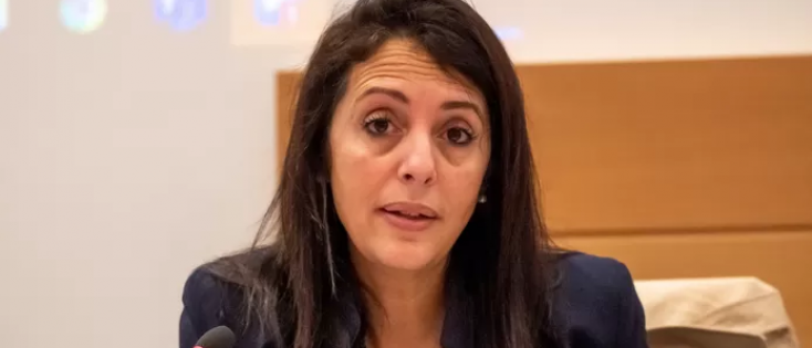 Minister van Klimaat Zakia Khattabi (Ecolo). © BELGA
